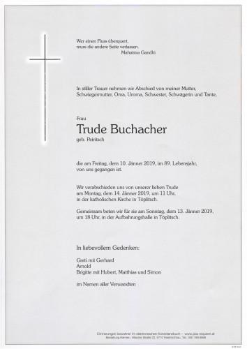 Trude Buchacher
