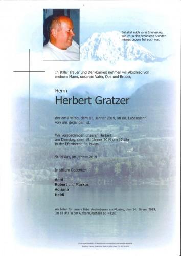 Herbert Gratzer