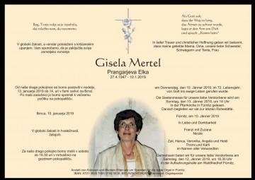 Gisela Mertel