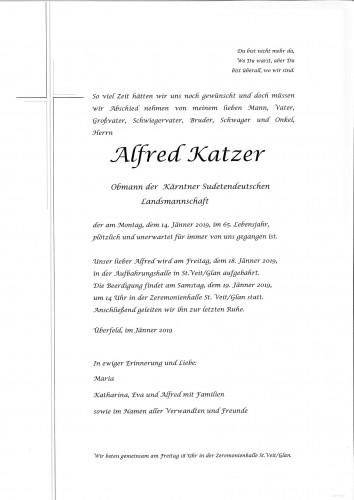 Alfred Katzer