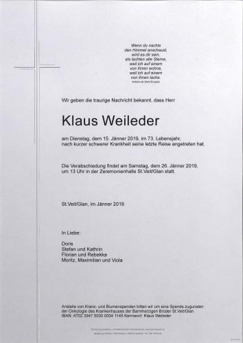 Klaus Weileder