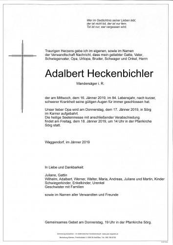 Adalbert Heckenbichler