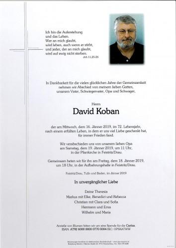 David Koban