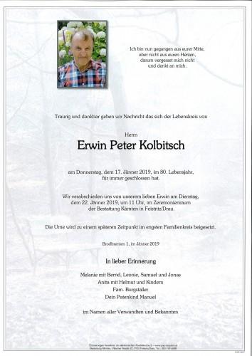 Erwin Peter Kolbitsch