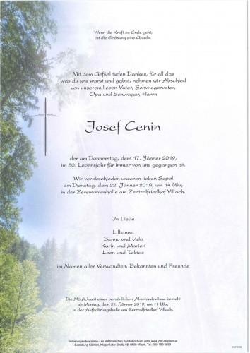Josef Cenin