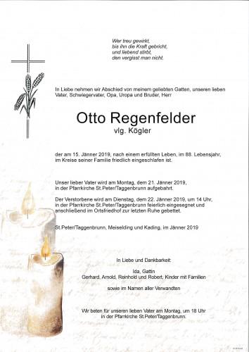 Otto Regenfelder    vlg.Kögler