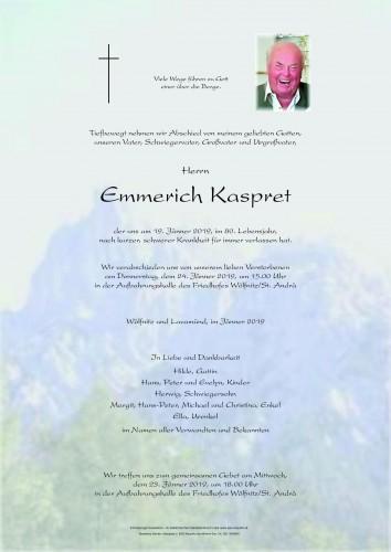 Emmerich Kaspret