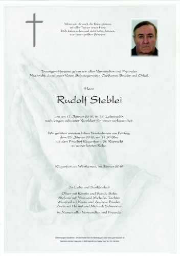 Rudolf Steblei