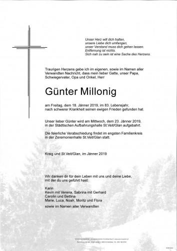 Günter Millonig