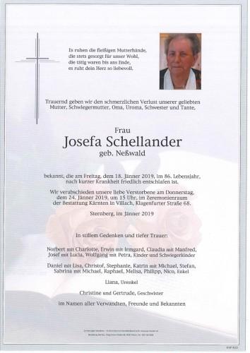 Josefa Schellander