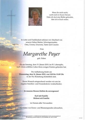 Margarethe Payer geb. Hober