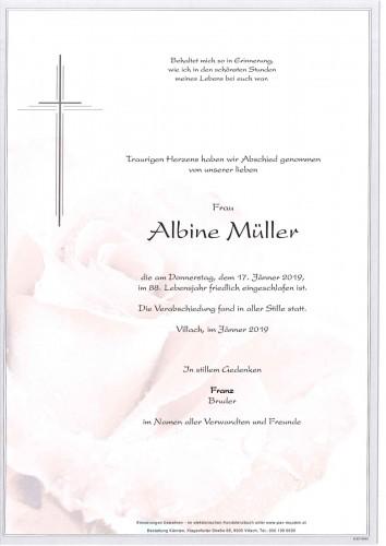 Albine Müller