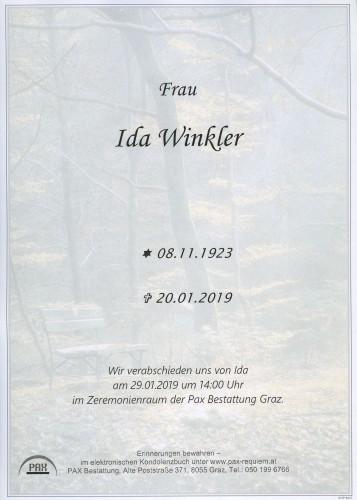 Ida Winkler