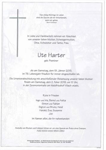 Ute Harter