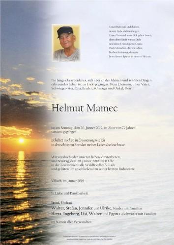 Helmut Mamec