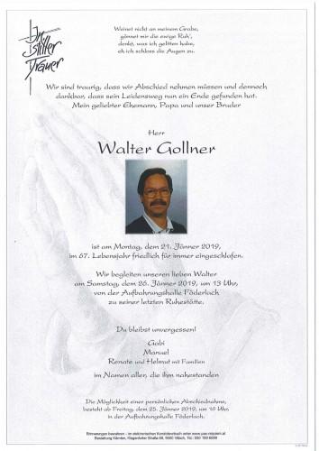 Walter Gollner