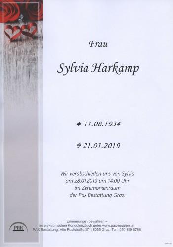 Sylvia Harkamp