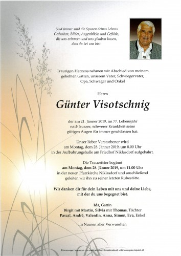 Günter Visotschnig
