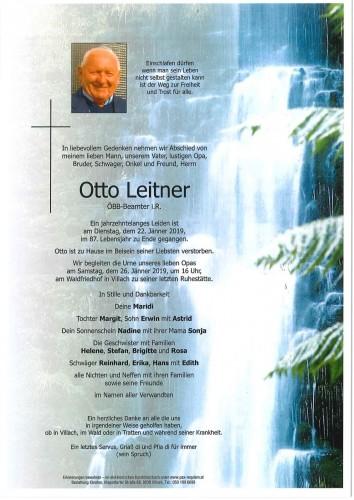 Otto Leitner