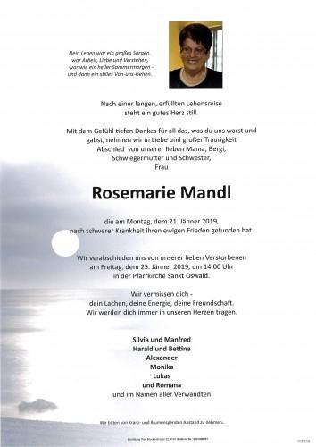 Rosemarie Mandl