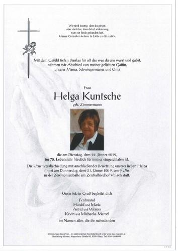 Helga Kuntsche
