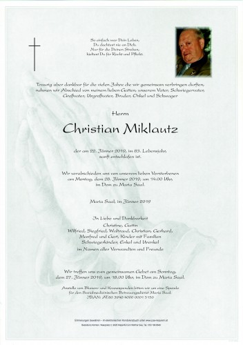 Christian Miklautz