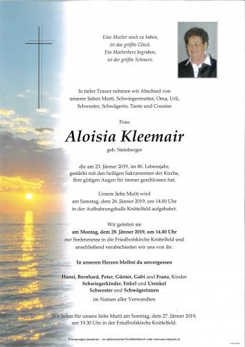 Aloisia Kleemair