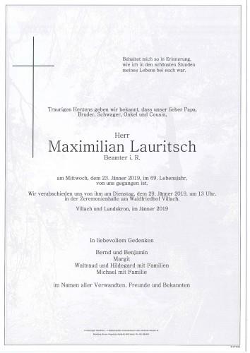 Maximilian Lauritsch