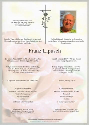 Franz Lipusch