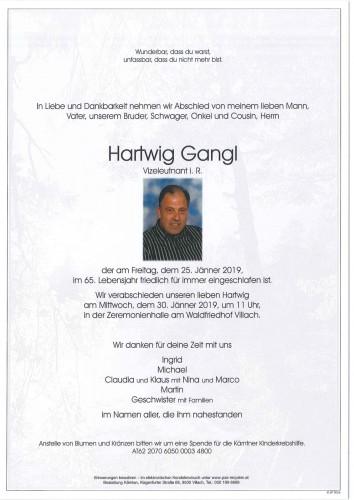 Hartwig Gangl