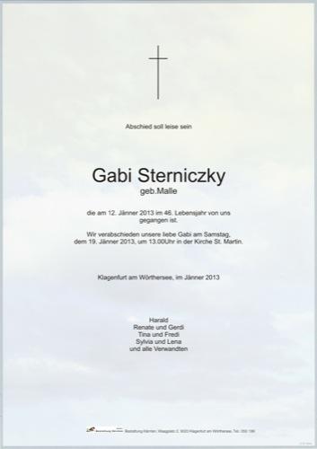 STERNICZKY Gabi