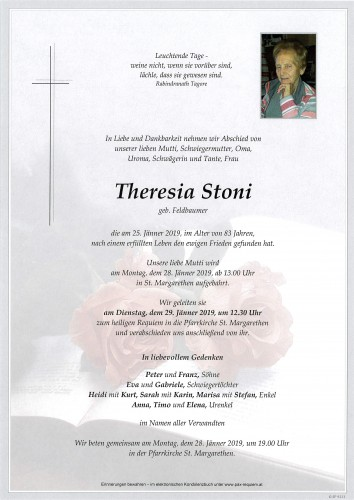 Theresia Stoni