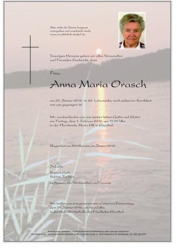 Anna Maria Orasch