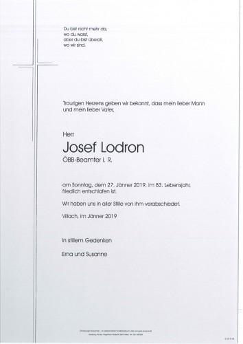 Josef Lodron