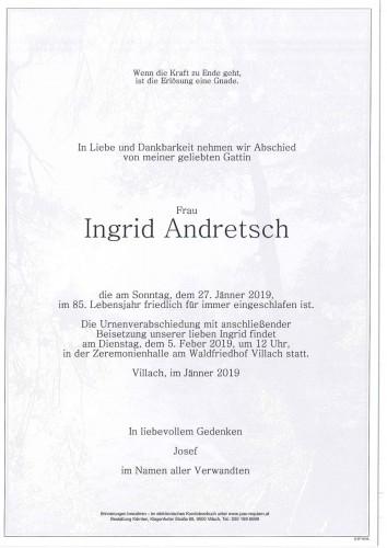 Ingrid Andretsch