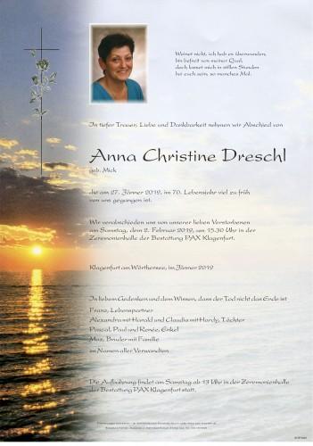 Anna Christine Dreschl