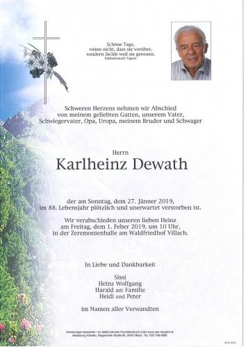 Karlheinz Dewath
