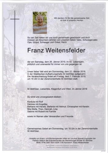 Franz Weitenfelder