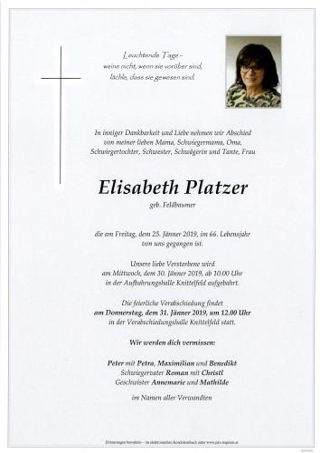 Elisabeth Platzer