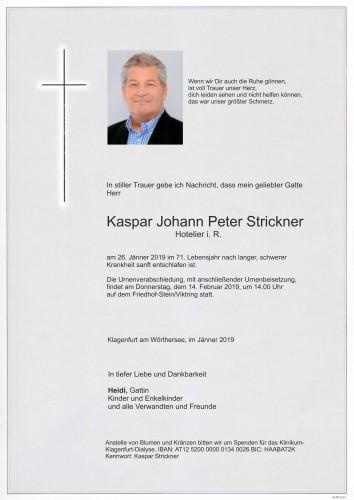 Kaspar Johann Peter Strickner