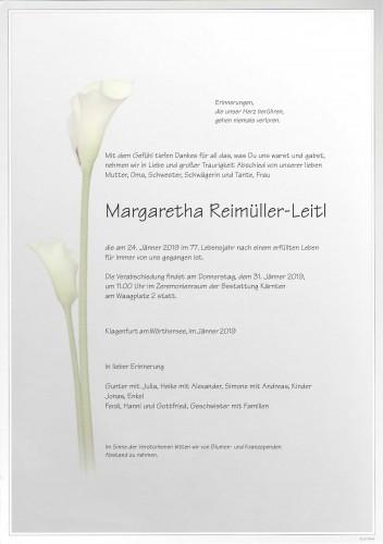 Margaretha Reimüller-Leitl