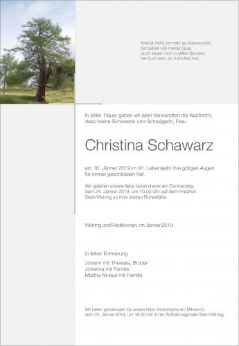 Christina Schawarz