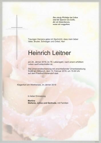 Heinrich Leitner