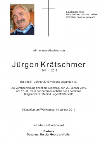 Jürgen Krätschmer