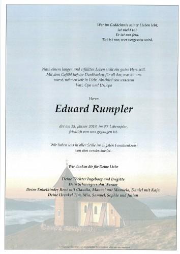 Eduard Rumpler