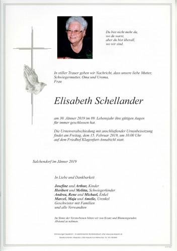 Elisabeth Schellander