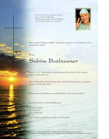 Sabine Buxbaumer