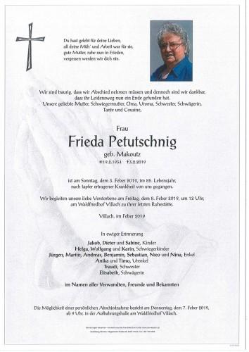 Frieda Petutschnig