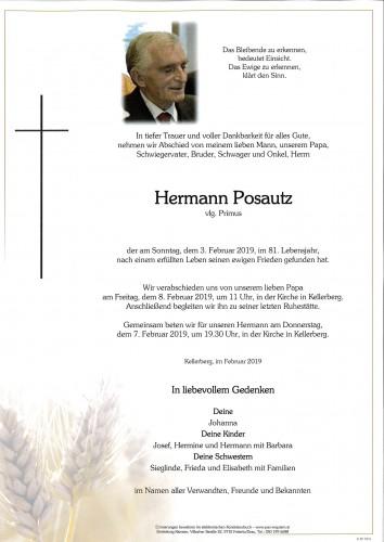Hermann Posautz, vlg. Primus