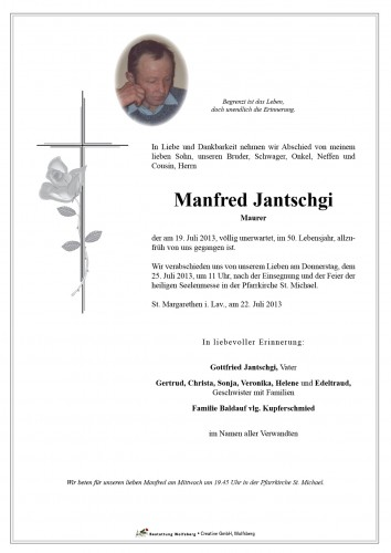 Manfred Jantschgi